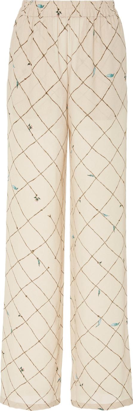 Alena Akhmadullina Silk Print Trouser