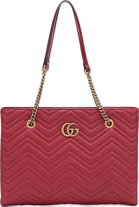 Gucci GG Marmont Medium matelassé leather tote