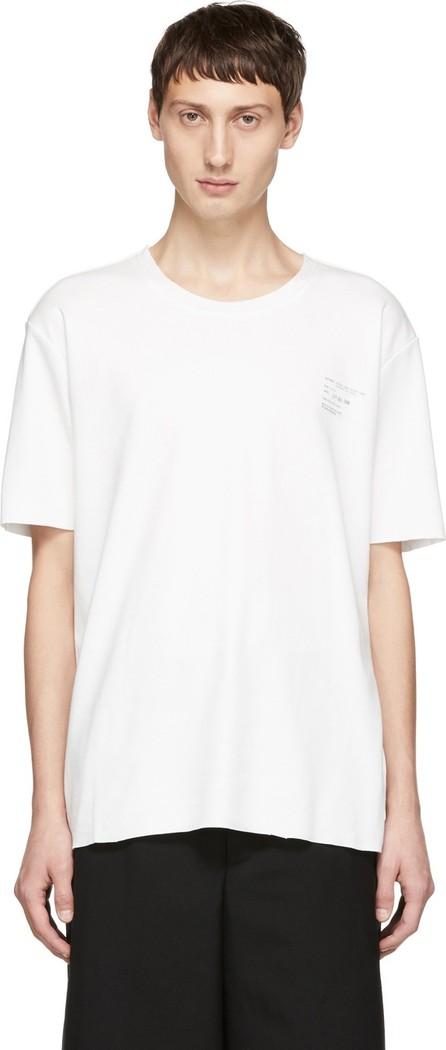 Camiel Fortgens White Logo T-Shirt