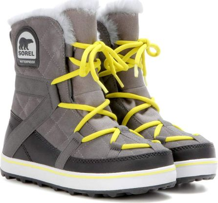 Sorel Glacy Explorer™ suede ankle boots