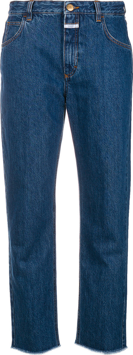 Closed Frayed-hem boyfriend jeans