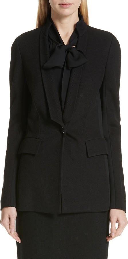 St. John Milano Piqué Knit Jacket