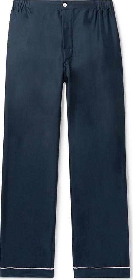 Sleepy Jones Marcel Piped Silk-Twill Pyjama Trousers