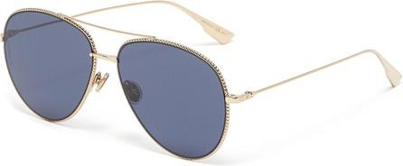 Dior DiorSociety3 metal frame aviator sunglasses