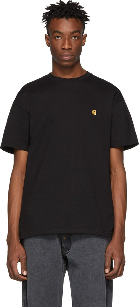 Carhartt Work In Progress Black & Gold Chase T-Shirt