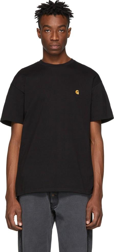Carhartt Work In Progress Black & Gold Chase T-Shirt