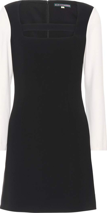 Alexachung Two-Tone cutout dress