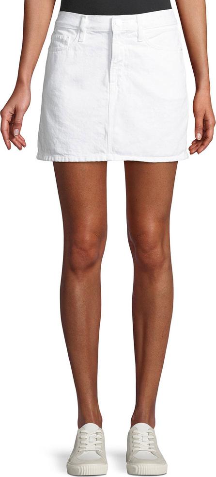 FRAME DENIM Le Mini Straight Denim Skirt