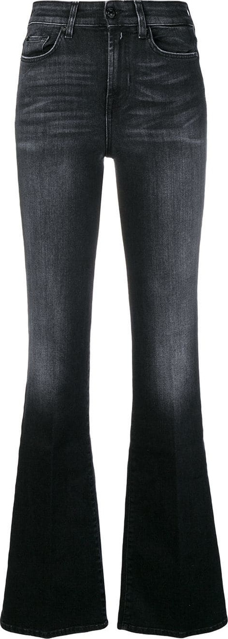 7 For All Mankind High-waisted flared jeans