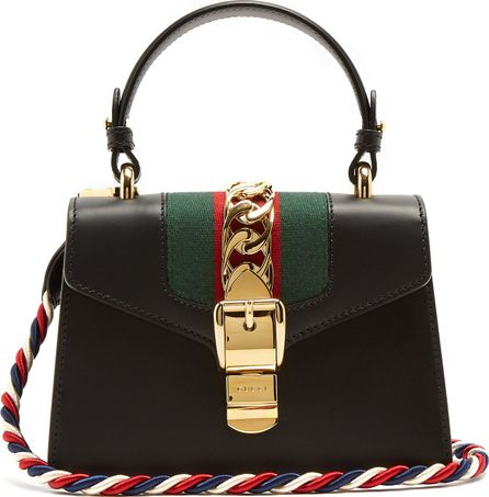 Gucci Sylvie mini leather cross-body bag