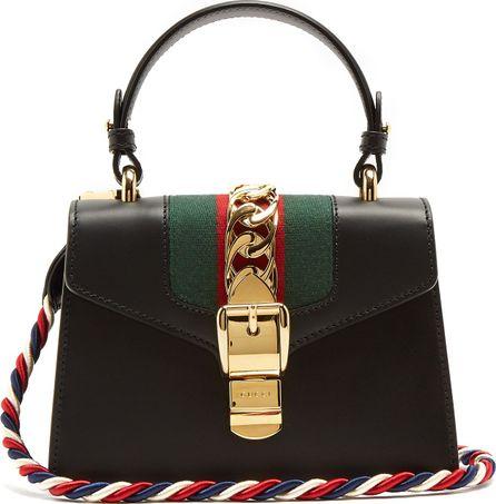 Gucci Sylvie mini leather cross-body bag