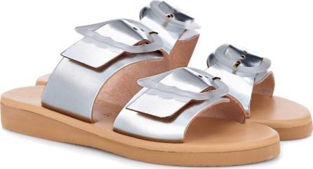 Ancient Greek Sandals Iaso leather slides