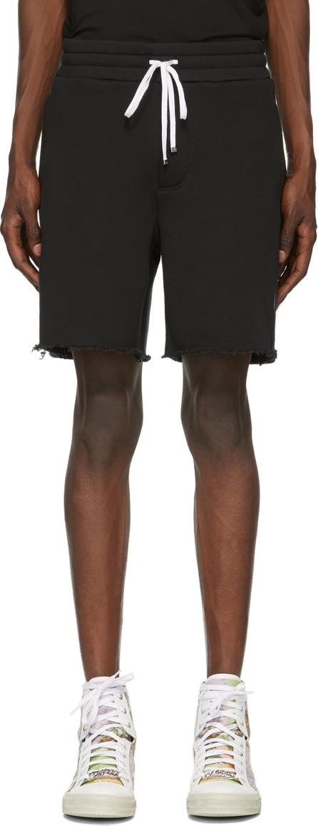 Amiri Black Logo Core Sweat Shorts