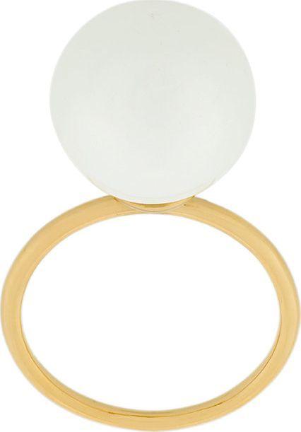 Aurelie Bidermann freshwater pearl band ring