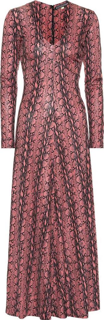 Alexachung Snake-printed dress