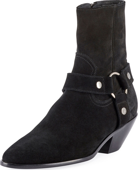 Saint Laurent Lukas West Harness Booties