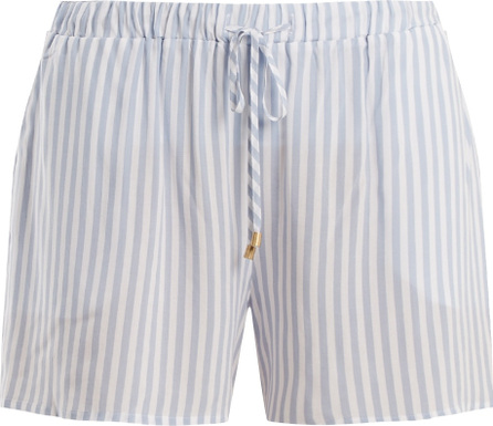 Hanro Striped tie-waist pyjama shorts
