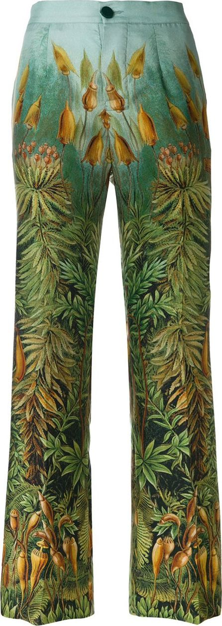 F.R.S For Restless Sleepers forest print trousers