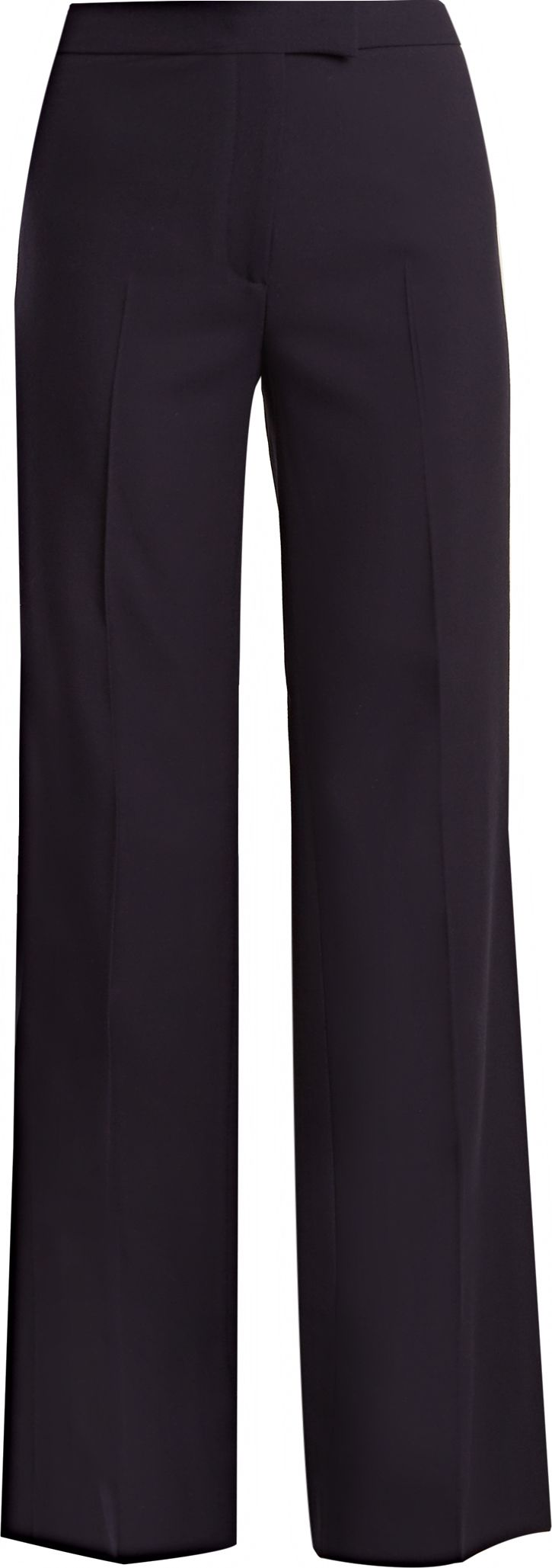 Alexachung - High-waisted wide-leg wool trousers