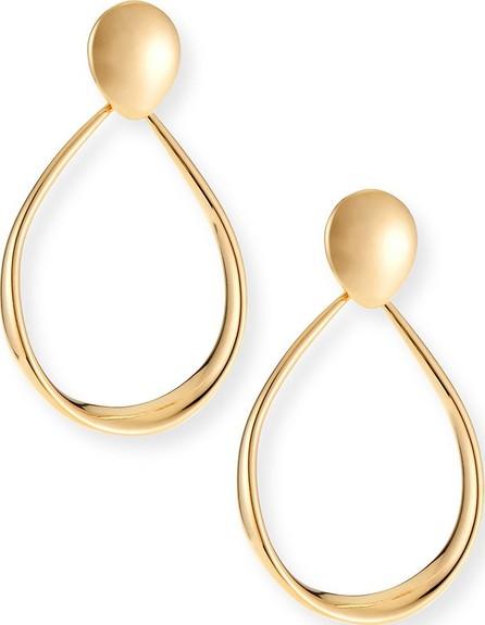 Alberto Milani 18k Gold Electroform Oval Earrings