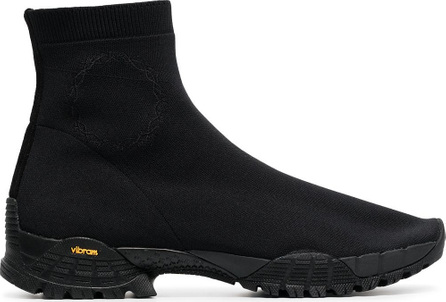 Alyx Black knit hiking boots