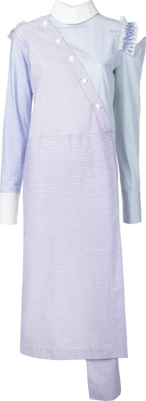 Anouki asymmetric midi dress