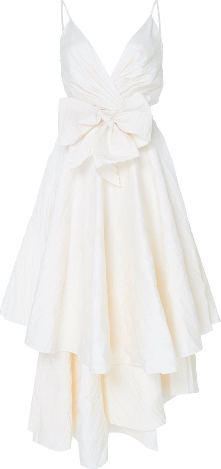 Johanna Ortiz Exclusive Belle Of The Fall Layered Cotton-Blend Dress