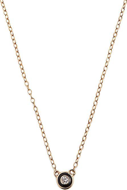 Alison Lou Enamel & yellow-gold Salt necklace