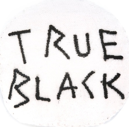 Ann Demeulemeester Blanche 'true black' brooch