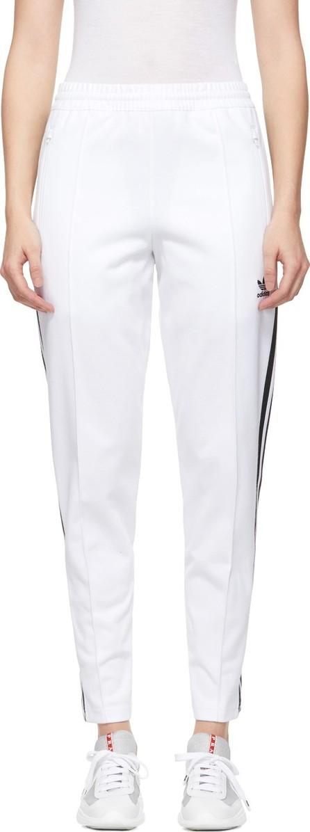 Adidas Originals White Franz Beckenbauer Track Pants