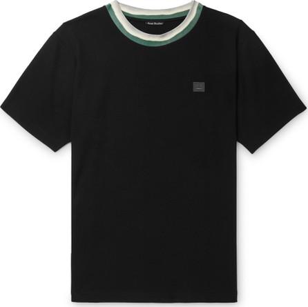 Acne Studios Nash Logo-Appliquéd Stretch-Jersey T-Shirt