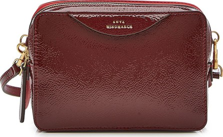 Anya Hindmarch Double Stack Leather Crossbody Bag