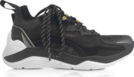 McQ - Alexander McQueen Gishiki 3.0 Black Women's Sneakers