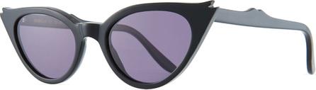 Illesteva Isabella Cat-Eye Acetate Sunglasses