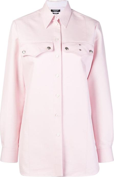 Calvin Klein 205W39NYC Embellished Western shirt