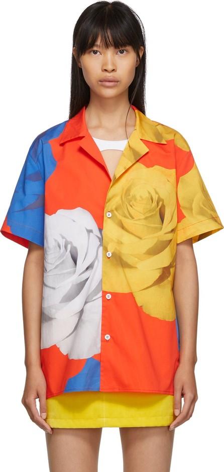 Anton Belinskiy Multicolor Rose Print Shirt