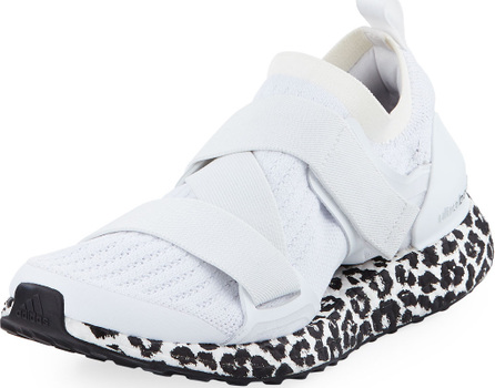 Adidas By Stella McCartney Ultraboost X Fabric Sneakers, White/Black