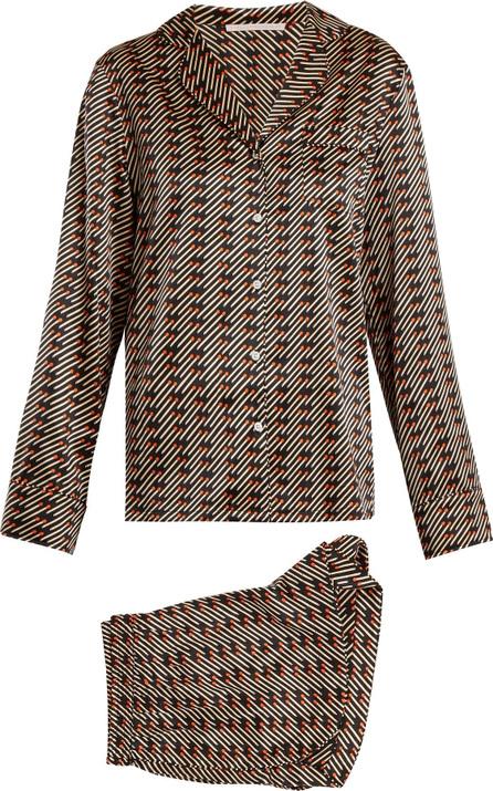 Stella McCartney Poppy Snoozing stretch-silk pyjama set