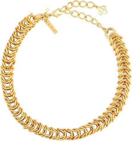 Oscar De La Renta Tubular chain-link necklace