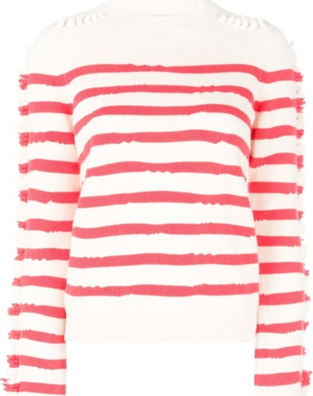 Barrie striped sweater