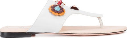 Fendi floral stud sandals