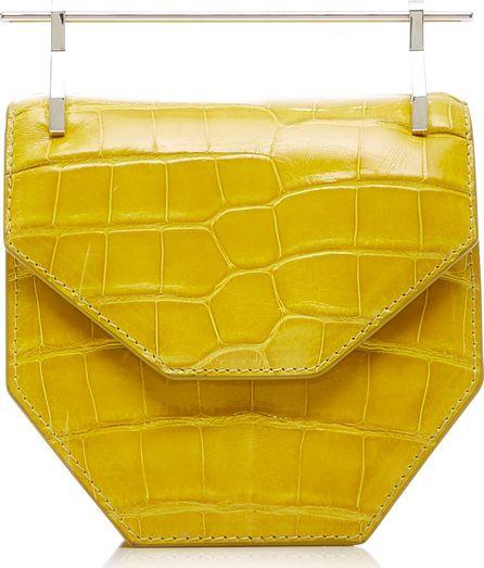 M2Malletier Mini Amor Fati Alligator Bag