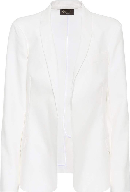 Macey cotton twill blazer