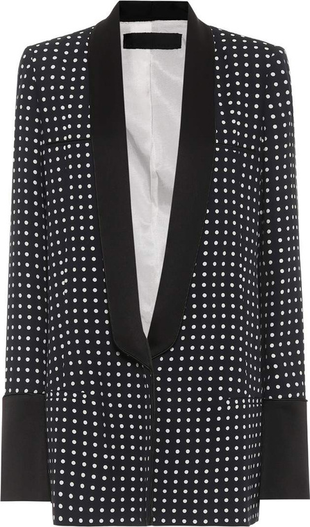 Haider Ackermann Polka-dotted jacket
