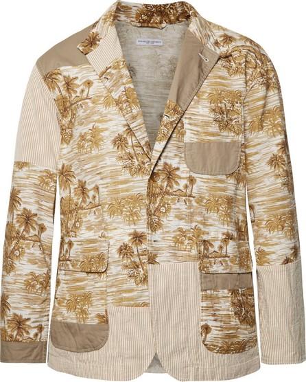 Engineered Garments Patchwork Cotton Jacket