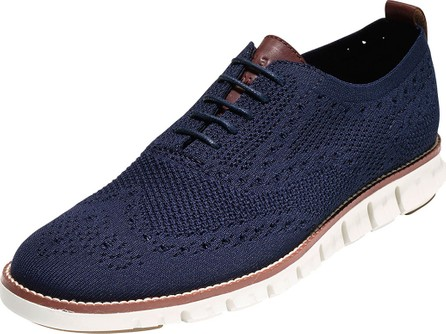 Cole Haan Men's ZeroGrand Knit Wing-Tip Oxford