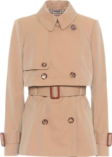 Alexander McQueen Cotton trenchcoat