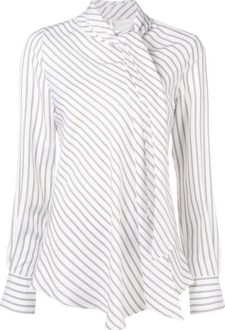 See By Chloé Striped tie neck blouse