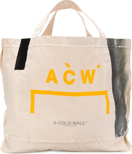 A-Cold-Wall* Logo print oversized tote