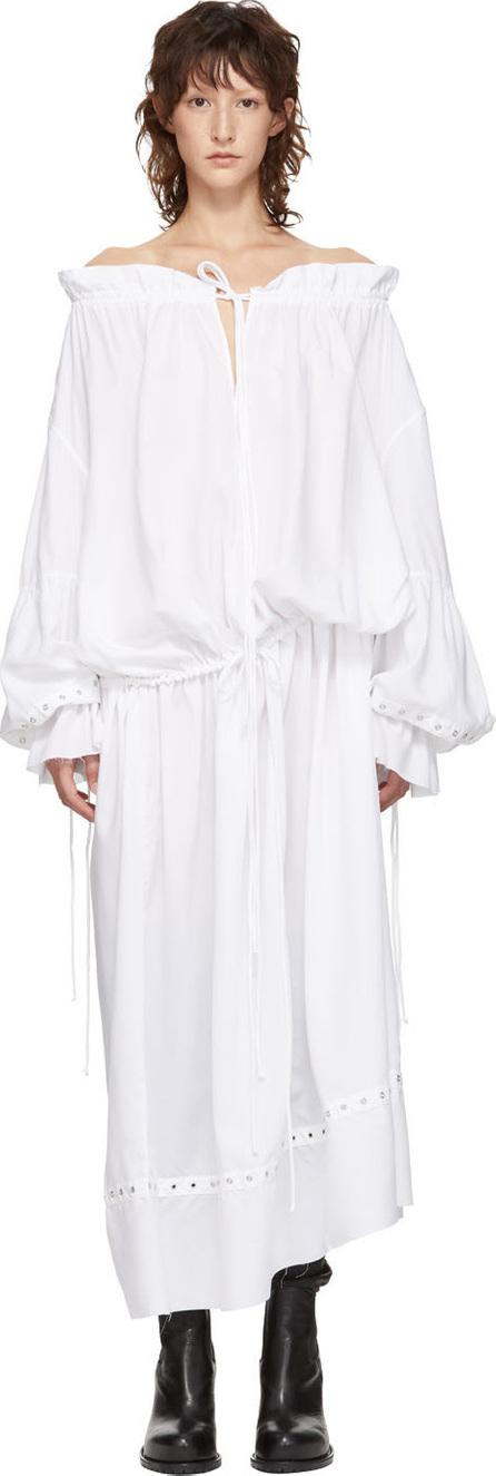 Marques'Almeida White Pirate Shirt Dress